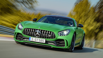 Green Mercedes AMG GT Wallpaper