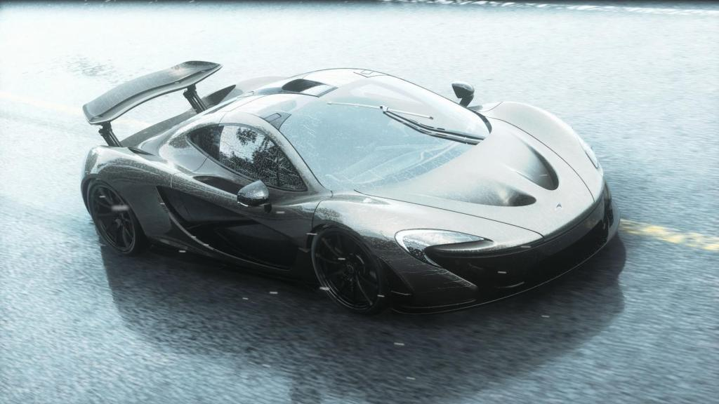 Grey McLaren P1 Wallpaper