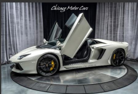 Silver Lamborghini Aventador Wallpaper