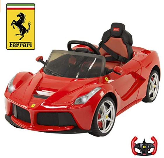 Image of Red Ferrari LaFerrari