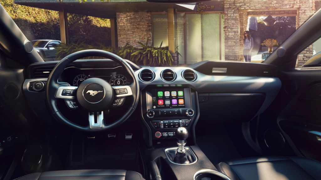 HD Image of Ford Mustang Interior