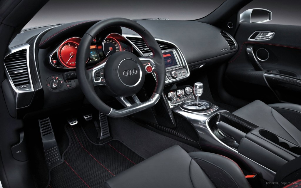 Photo of an Audi R8 Interior