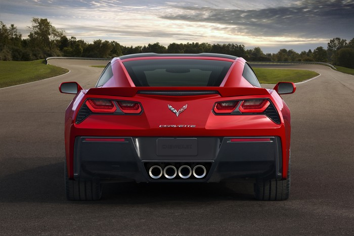 HD Image of Corvette Exhaust