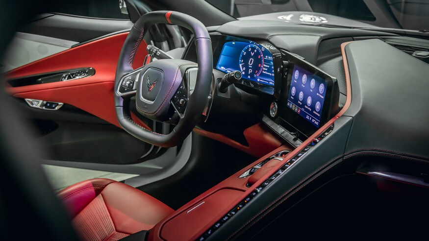 HD Image of Corvette Interior