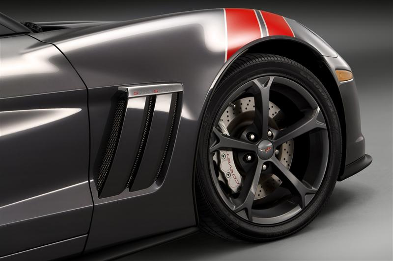 HD Image of Corvette Wheels