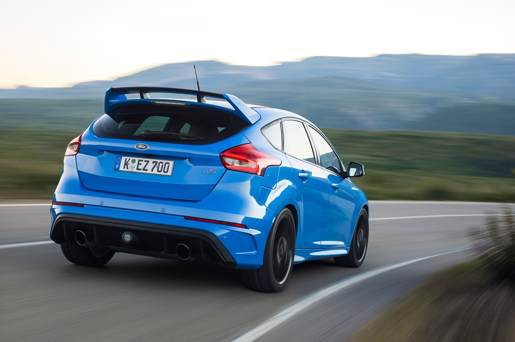 Ford Focus RS Wallpaper Rear