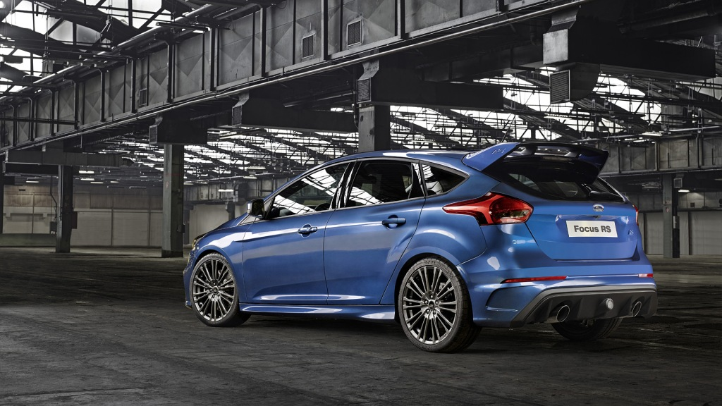 Ford Focus RS Wallpaper Side