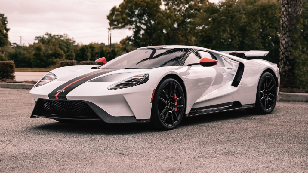 HD Image of Ford GT Body