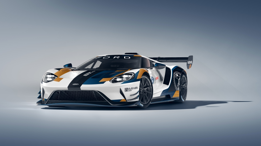 HD Image of Ford GT Racecar