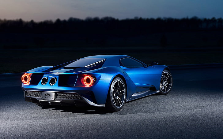HD Image of Ford GT Rear