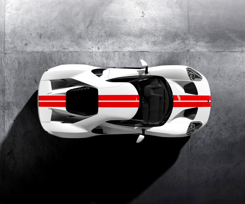 HD Image of Ford GT Top