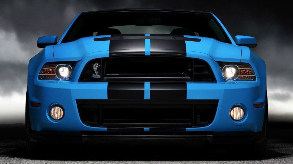 HD Image of Ford Mustang Front
