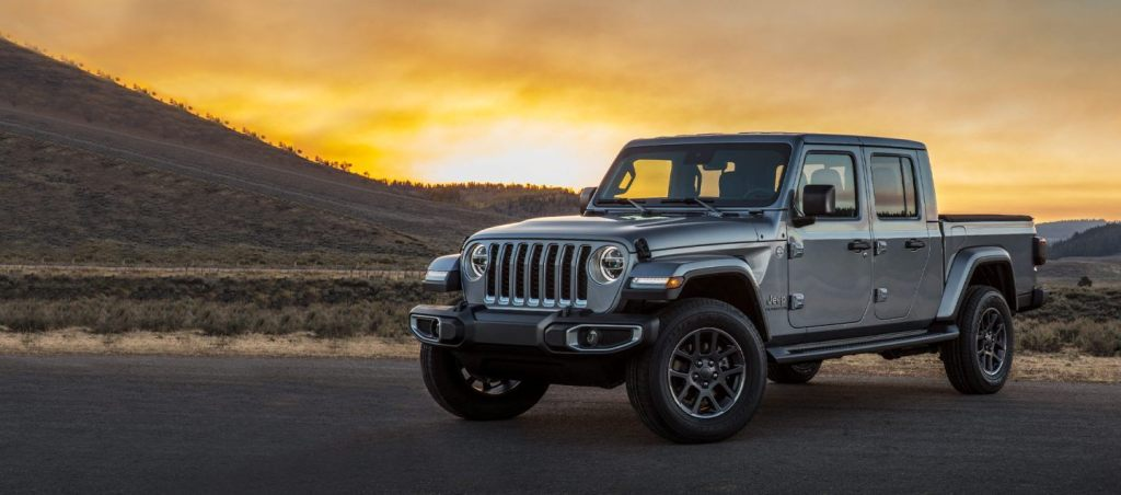 HD Image of Jeep Gladiator Body