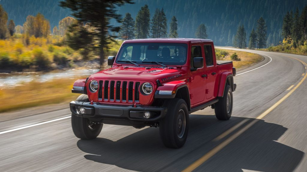 HD Image of Jeep Gladiator Front