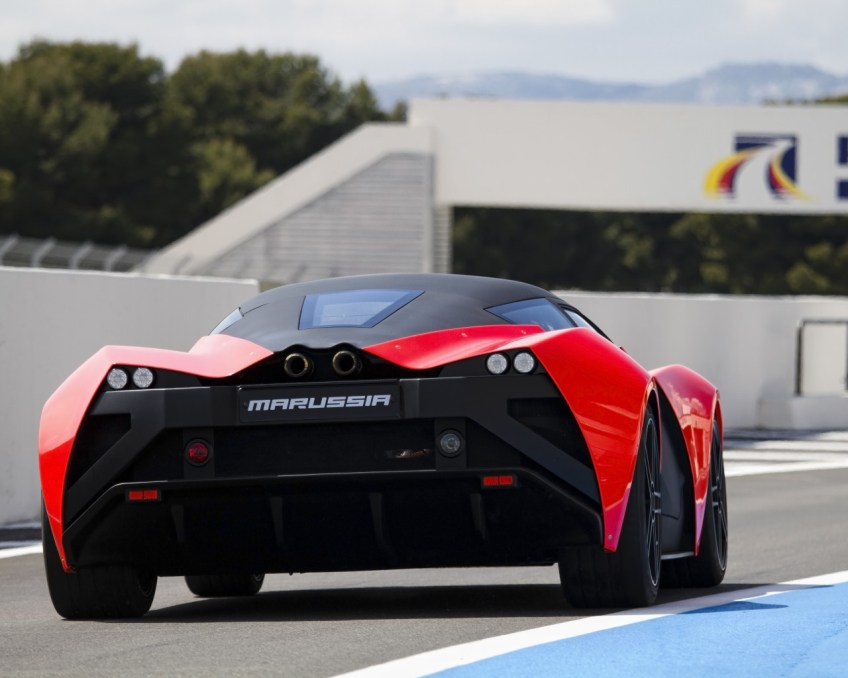 Photo of a Marussia B2