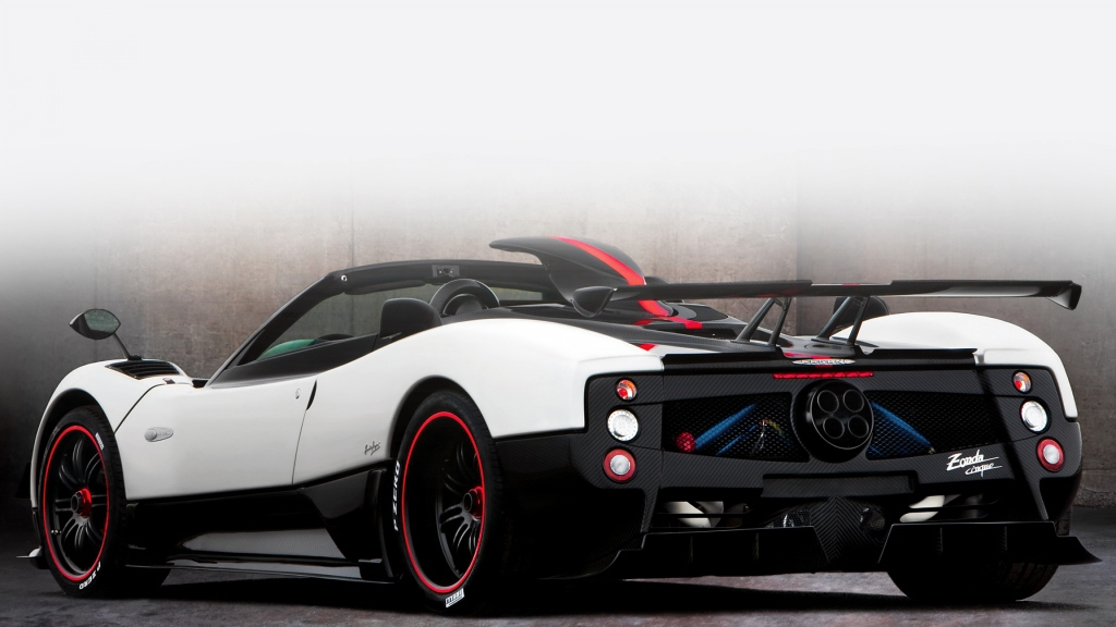 Photo of a Pagani Zonda