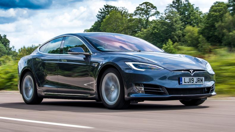 Photo of a Tesla Model S