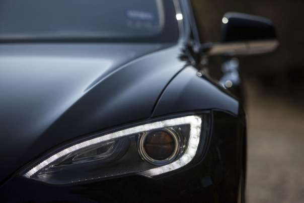 Photo of a Tesla Model S