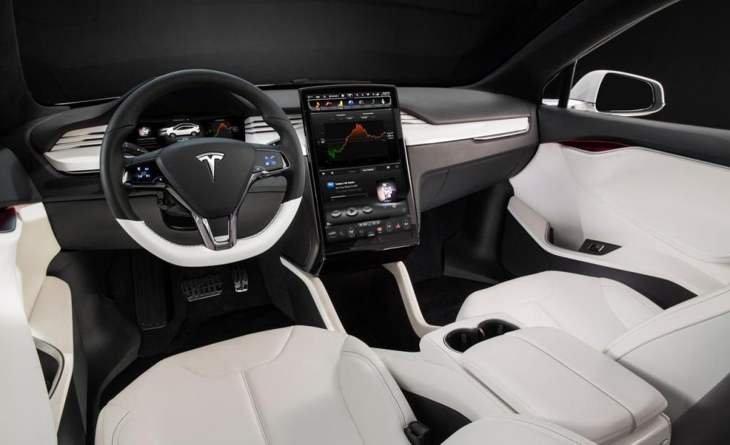 Photo of a Tesla Model X