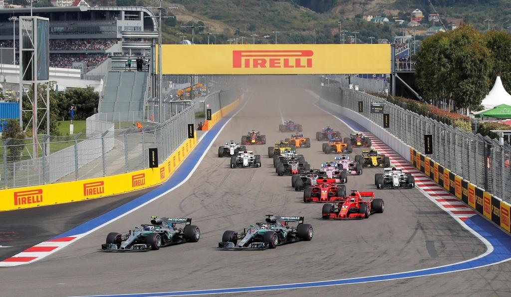 Russian Grand Prix Track