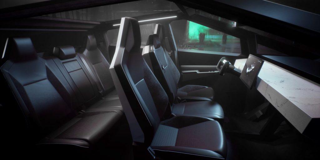 Tesla Cyber Truck Interior